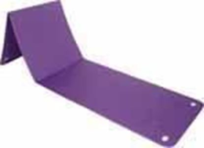 Picture of Fold up 9mm Pilates Mat long Lilac