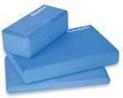 "Picture of Yoga / Pilates 1"" Block Blue"