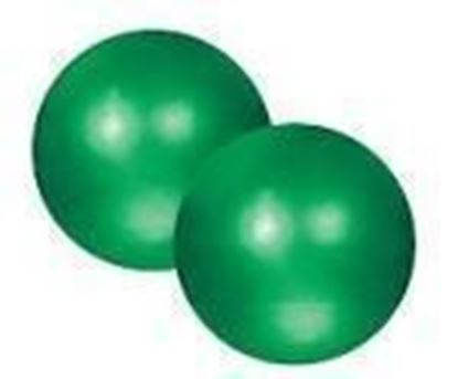 Picture of Pilates Soft Weighted Balls 2 x 10kg Green