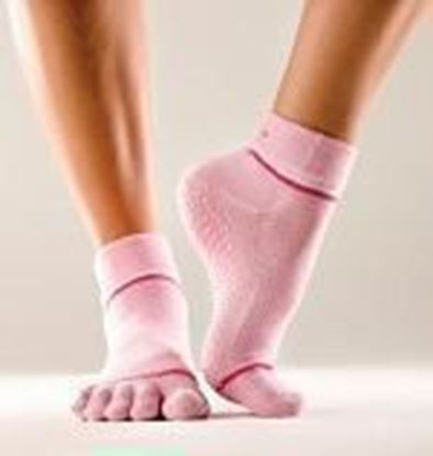 Picture of Toe socks - Pink - Small