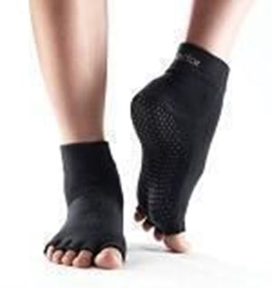 Picture of ToeSox Without Toe - Black - Large
