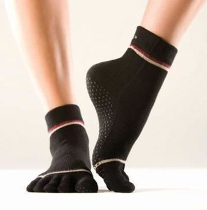 Picture of Toe Socks - Black - Large