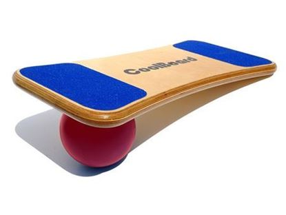 "Picture of CoolBoard® - Large Board with 65"" Strength Ball"